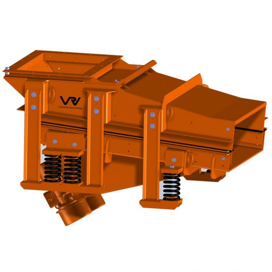 Hopper bin discharge unit